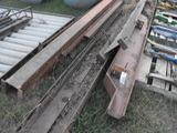 LOT OF I BEAMS AND ASSORTED METAL