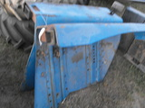 SET OF BLUE FORD FLAT TOP FENDERS