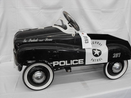 HIGHWAY PATROL #287 POLICE CAR  GLIDE RIDE