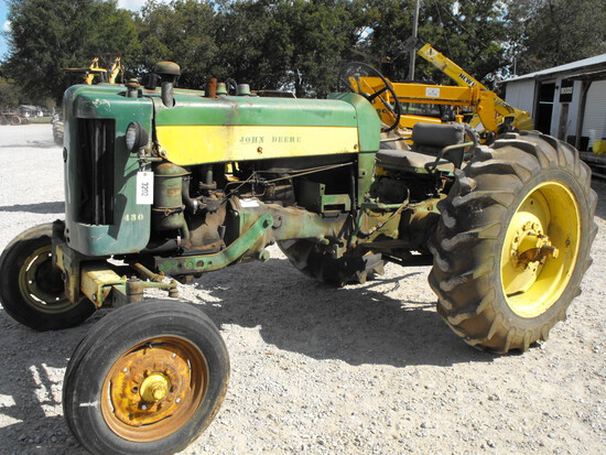 JOHN DEERE 430W  ALL FUEL  #143109