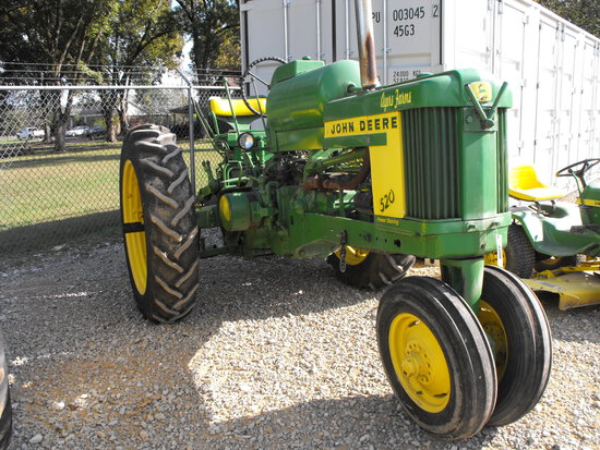 JOHN DEERE 520 LP  P/S   ENGINE IS FREE/NON-RUNNER