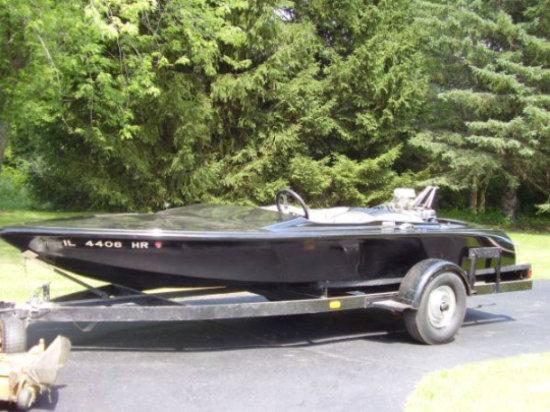 1965 Mandella custom flat bottom V Drive Boat | Vehicles