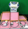 Palomar StarLux Hair Removal Laser System on Rolling Cart with Key.  Includes Lux G, Lux Rs, & Lux Y