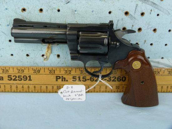 Colt Diamondback Revolver, .38 Special, SN: D31767