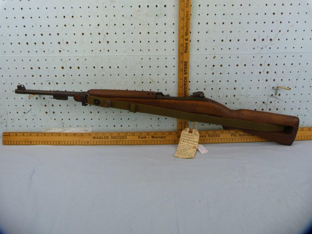 Winchester US M1 Carbine, .30M1, SN: 7274254