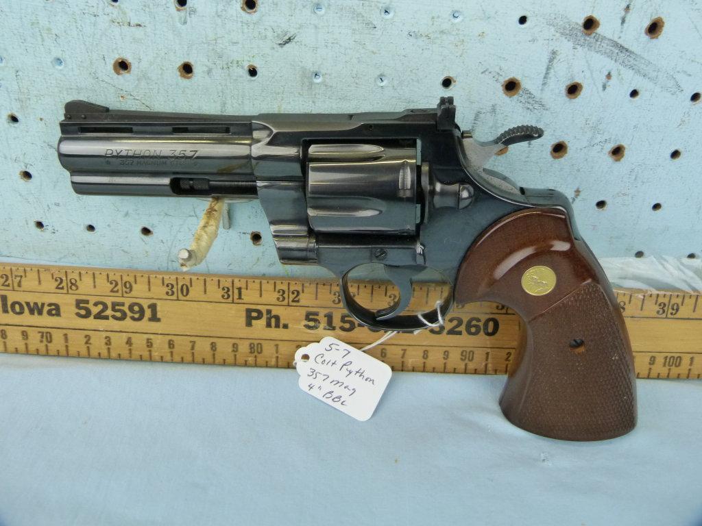 Colt Python Revolver, .357 Mag, SN: 19049E