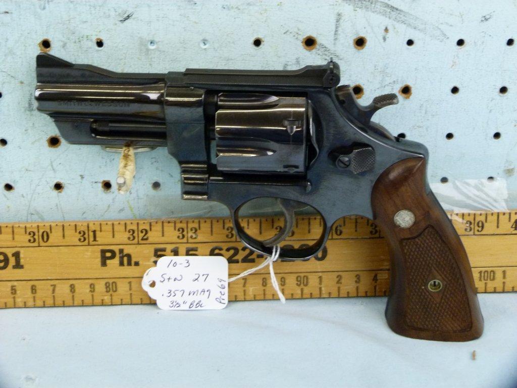 Smith & Wesson 27 Revolver, .357 Magnum, SN: S197429