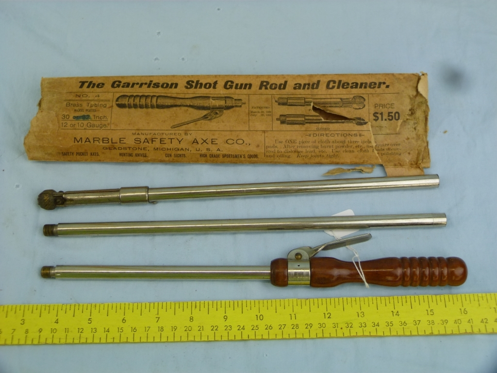 Msa Usa Garrison Shot Gun Rod And Cleaner Art Antiques Collectibles Other Collectibles Auctions Online Proxibid