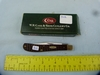 Case XX USA brown single blade knife, 61048, NIB