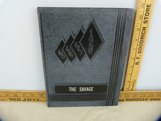 1956 Savage Yearbook