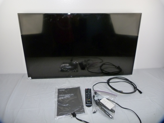 """Samsung Model UN43NU6900F 42"""" UHD television,"""