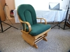 Upholstered glider-rocker - Best Chairs Inc.