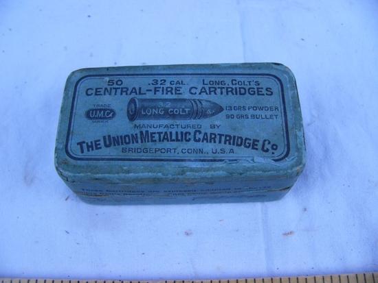 Ammo: 1 box UMC .32 Long Colt, 50 rds