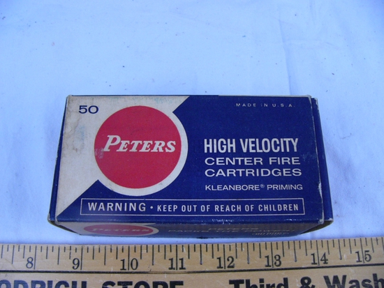 Ammo: 1 box Peters .32-20 Win, 50 rds