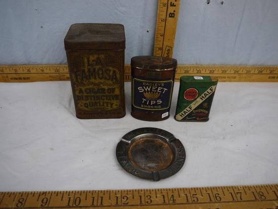 (4) tobacco items: