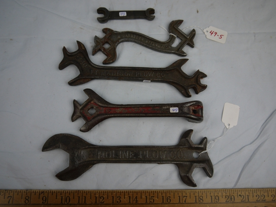 (5) wrenches