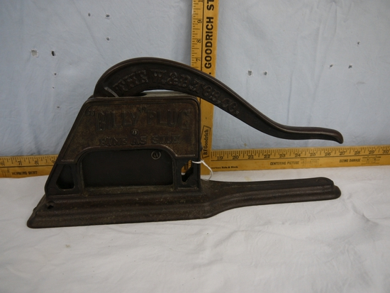 "Griswold made ""Billy"" Plug tobacco cutter"