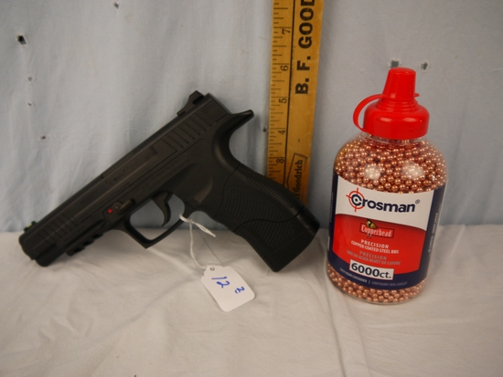 Daisy Powerline 415 pistol with Crosman BBs (6000)  .177 caliber
