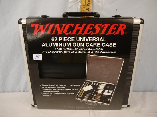 Winchester 62 piece universal aluminum gun care case - NIB