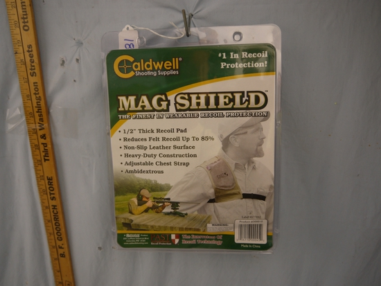 "Caldwell Mag Shield 1/2"" recoil pad - NIB"