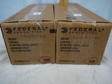 Ammo: 1000 rounds Federal American Eagle 5.56mm, 55 gr, FMJ - AOM