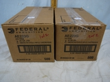 Ammo: 1000 rounds Federal American Eagle .223 Rem, 50 gr, JHP - AOM