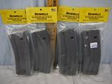 (4) Brownell's 30 round AR-15/M16 magazines - 4x$