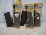 (5) Magpul PMAG 30 Standard 30 round AR15/M16 magazines - 5x$