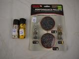Ammo: (2) partial tubes of Daisy BBs & Gamo .177 pellets (4 types)