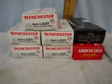 Ammo: 350 rounds mixed 9mm Luger, 115 - 147 gr - AOM