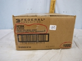 Ammo: 1000 rounds Federal American Eagle .38 Special, 138 gr, FMJ - AOM