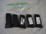 5x$  - Glock 36 .45 caliber magazines - 5x$