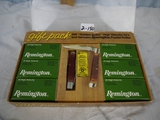 Ammo: Remington Gift Pack - 300 Golden Bullet .22LR and Genuine Remington  Pocketknife - AOM