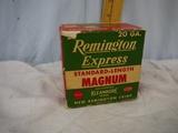 Ammo: collectible Remington 20 ga magnum, 2-3/4