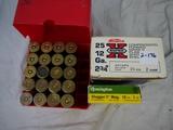 Ammo: 50 rounds 12 ga, 2-3/4