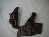 (2) Triple Brand K leather holsters: 196-3 2 & A20-10 - new