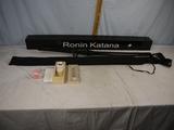 Ronin Katana Samurai sword, 35-1/2