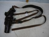 Galco leather shoulder harness holster set - D119 WCD KK130Y - new