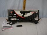 Hatsan Supercharger 25 air pistol, .177 caliber, black synthetic - NIB - made in Turkey