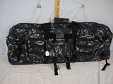 Blue & grey camo soft-side SxS gun case - 38