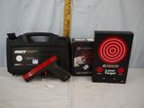 (2) target practice items: SIRT laser training pistol SN:005189 & Laserlyte target - both like new