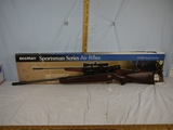 Beeman Model 1056 .177 caliber Sportsman Series air rifle with scope - needs to be cleaned