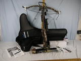 Excalibur Matrix 300 crossbow with Hawke scope, Trigger Tech, crank setting, soft case -
