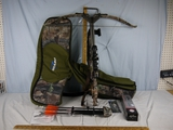 Excalibur Vortex crossbow with Excalibur scope, soft case - probably never used