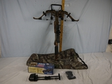 Excalibur 308 Short crossbow with Hawke 1.5-5x32 IR-SR scope, non-padded soft case - probably new