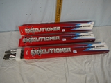 (3) packages of Executioner 18