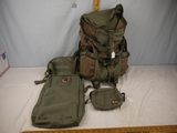 (4) Hill People Gear cases/packs - like new probably never used