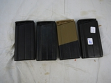 (4) .308 Win magazines: 20 rounds each - 4x$