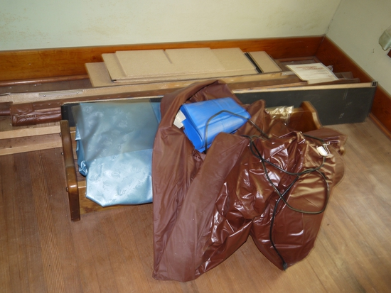 Waterbed with handbook