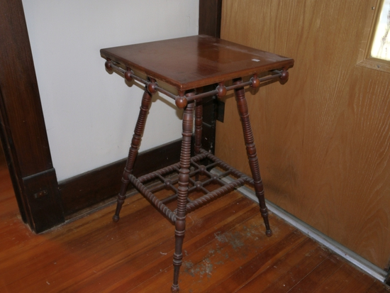 Stick and ball parlor table